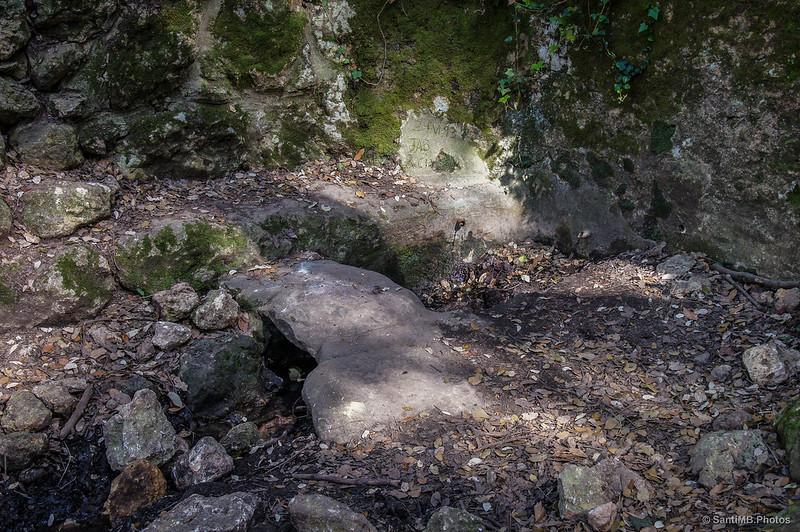 La fuente se ha secado