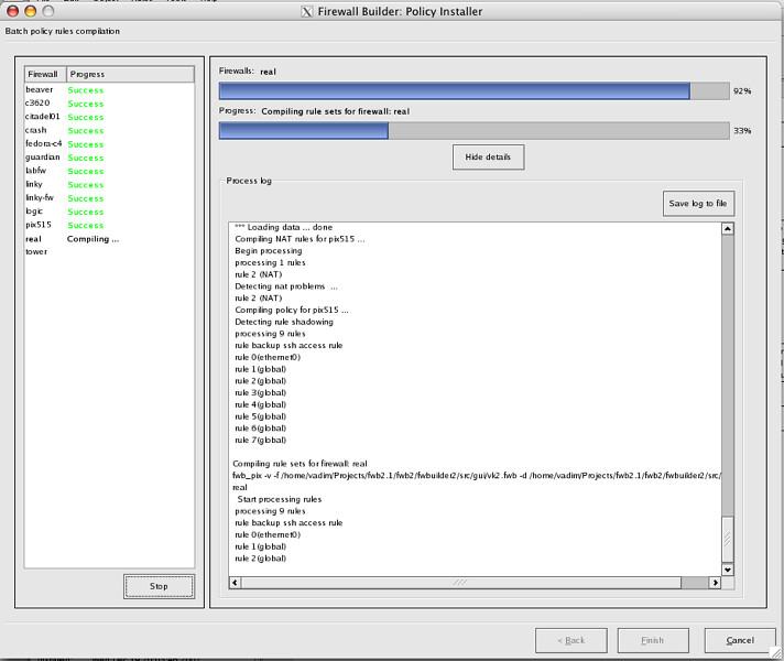 fwbuilder | Firewall Builder GUI Firewall Configuration | Linux