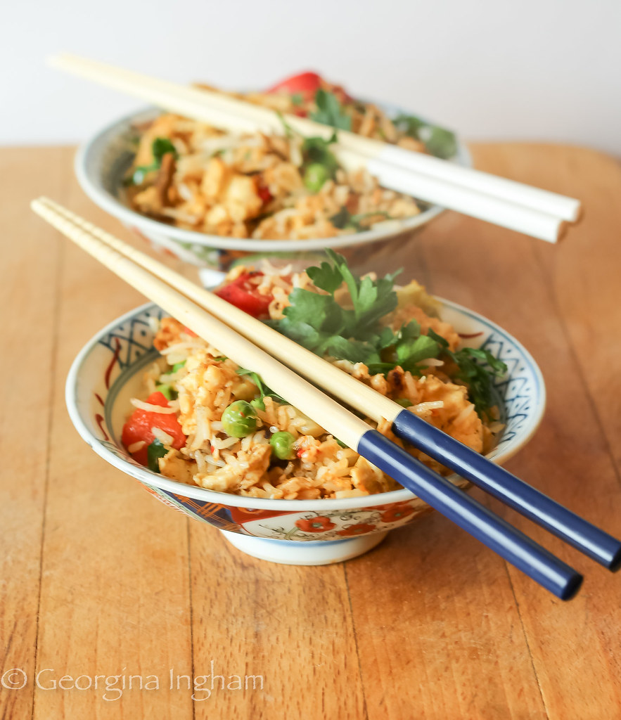 Yeung Chow Fried Rice - Perfect for using up the lovely leftovers