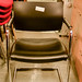Luxury black leather meeting chair