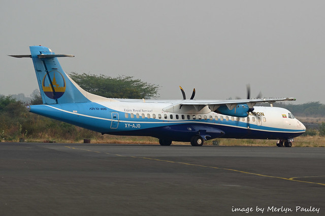 Mann Yadanarpon ATR-72 xy-ajo
