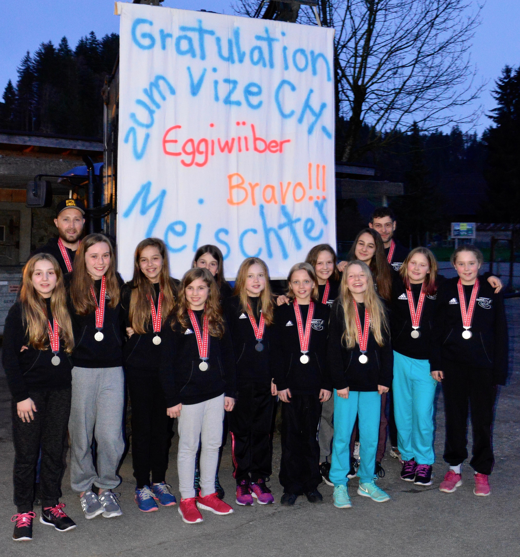 Juniorinnen C - Empfang Bären Eggiwil Saison 2015/16