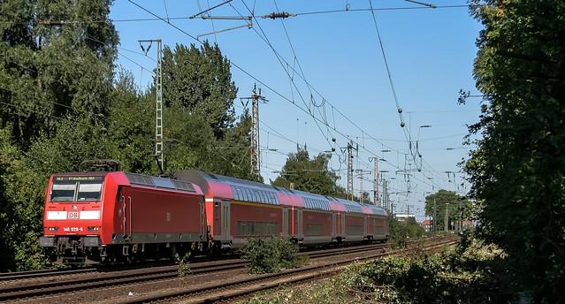 09.09.2006 Wanne - Eickel. DB 146 RE2 M'gladbach