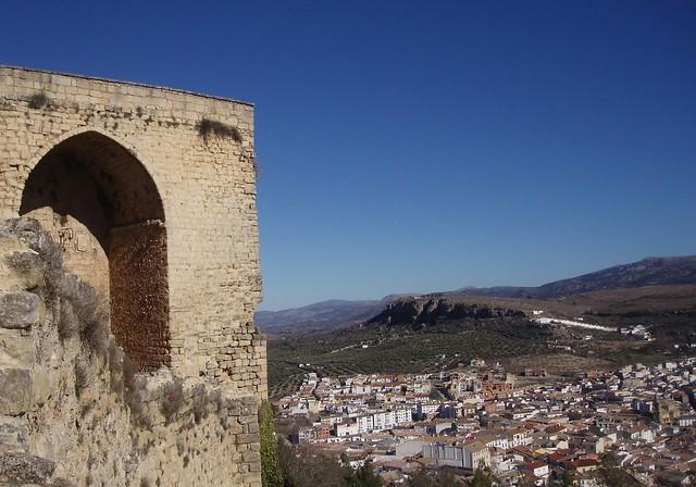 Desde el castillo_ Alcalá la Real