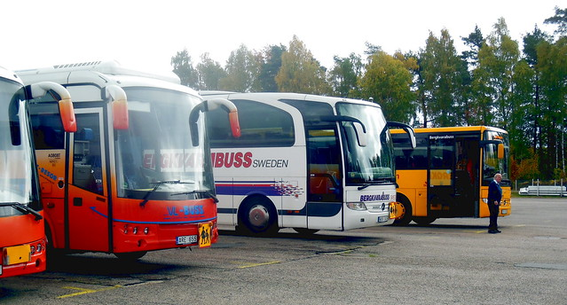 Bergkvarabuss Swedish school buses - Mercedes Tourismo v Integro