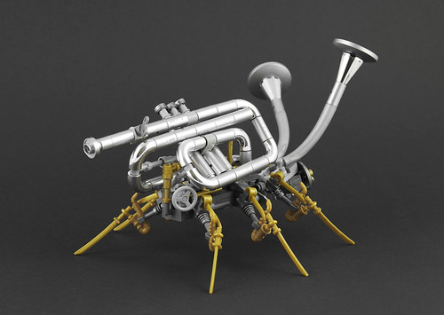Steampunk Brass Bug | by Legopard