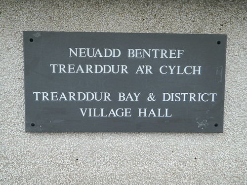 Village Hall plaque