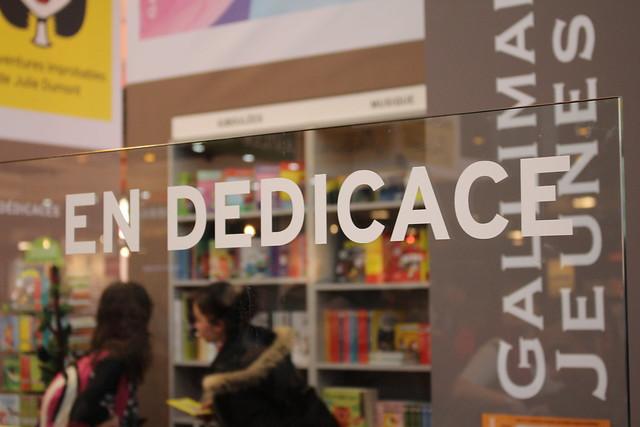 Dédicace - Livre Paris 2016