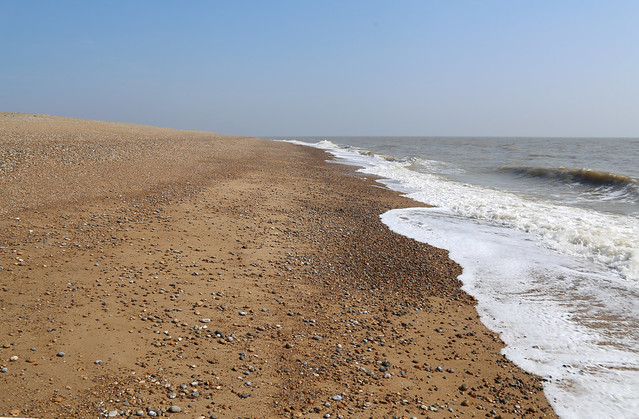 The beach at Orford Ness