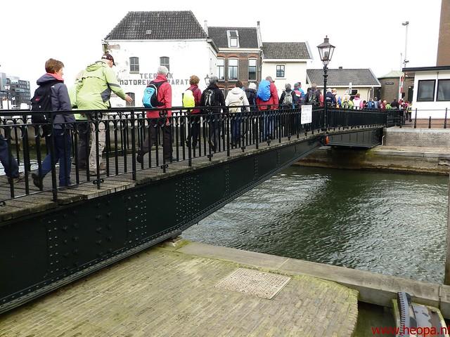 2016-03-23 stads en landtocht  Dordrecht            24.3 Km  (25)