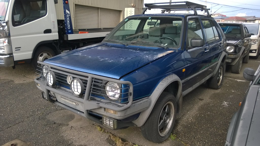VW Golf II Country - 1 8 syncro (1) | Niigata, Japan This Go
