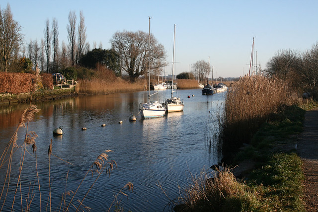 The River Frome near Wareham