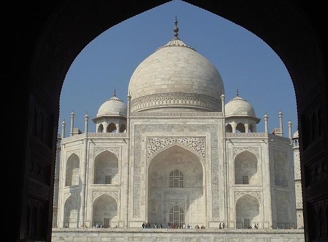INDIEN, Agra - Taj Mahal - Mausoleum , serie , 13367/6263