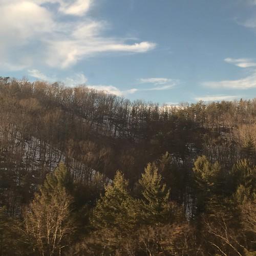 mountains virginia amtrakviews