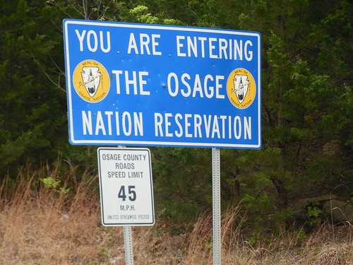 Entering Osage Nation & Osage County | by jimmywayne