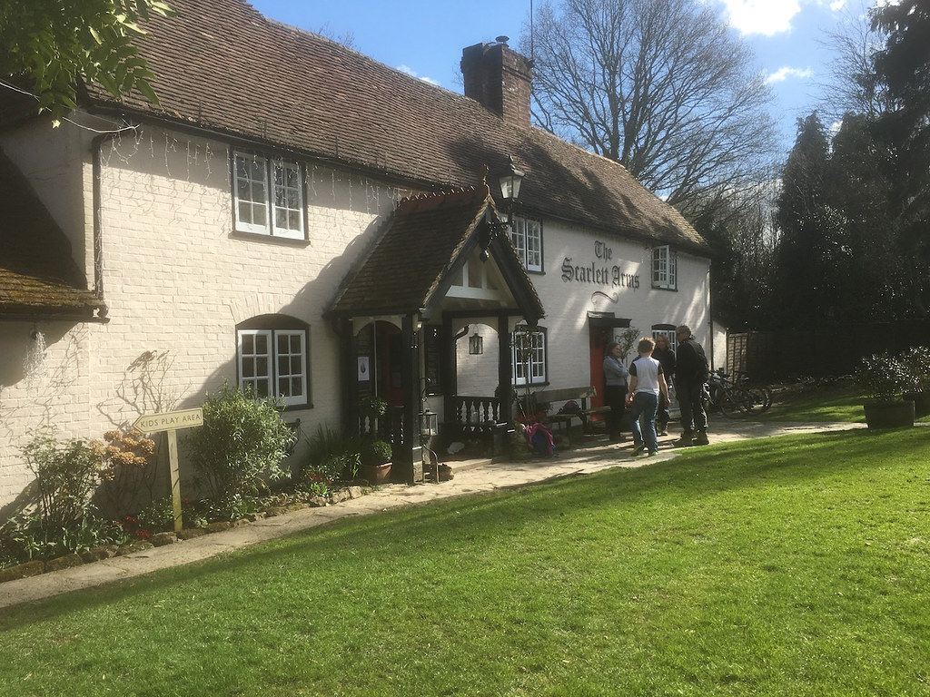 The Scarlett Arms Ockley to Warnham walk