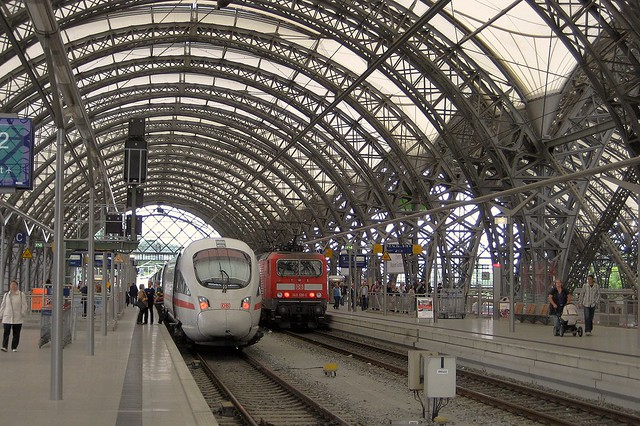 Dresden Hauptbahnhof Südhalle