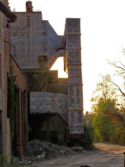 remains of Cement factory Podsused