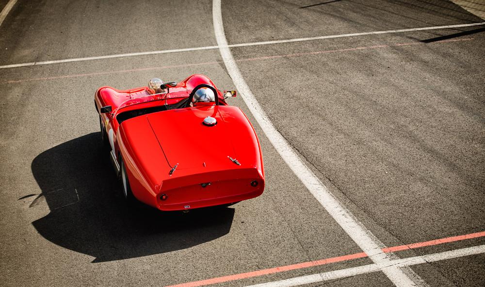 Nick Leventis - 1960 Ferrari 246 S Dino Prototipo at the 2016 Silverstone Classic Media Day (Photo 2)