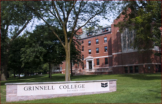 'Grinnell College Founded 1846' -- Grinnell (IA) September 2015 | by Ron Cogswell