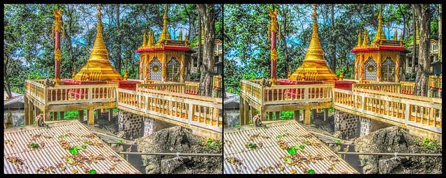 hdr- Mount Popa (Myanmar) / A