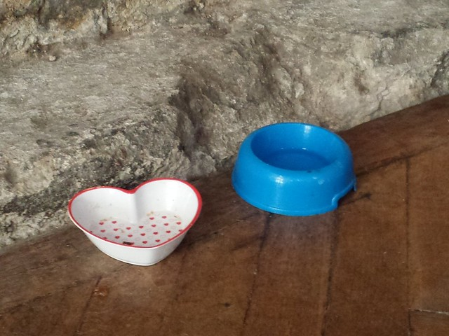 Doorkins cat bowls