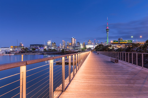 auckland city coast hdr nz newzealand promenade urban westhaven explored