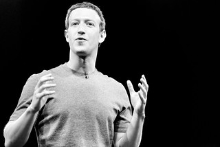 Mark Zuckerberg | by Alessio Jacona