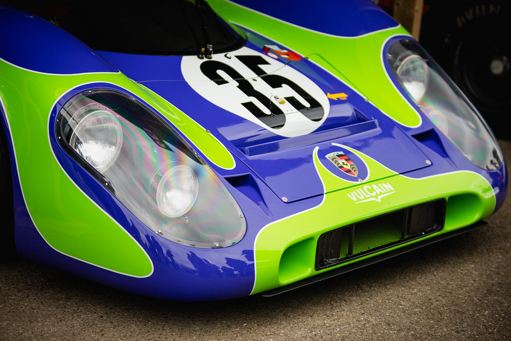 Vincent Gaye - 1970 Porsche 917K at the Goodwood 74th Members Meeting (Photo 1)