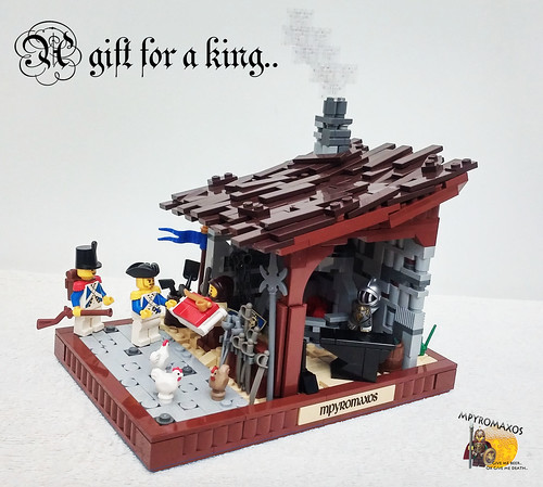 A gift for a king.. | by Mpyromaxos