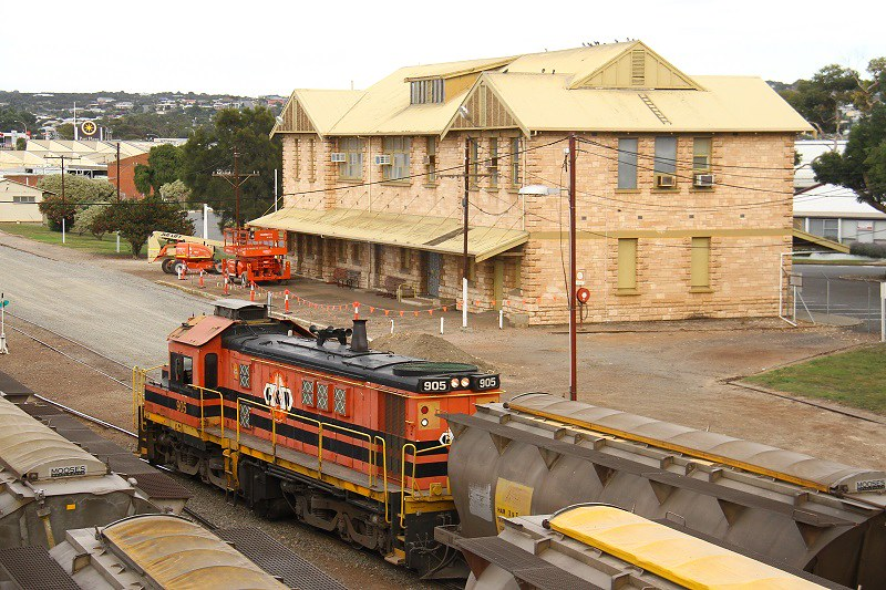Port Lincoln Railway Station by David Arnold