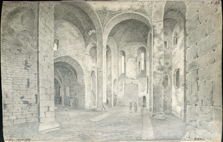 St. Lars medieval church ruin, Visby, Gotland, Sweden