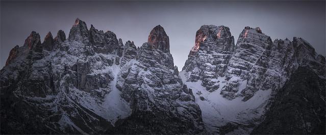 _DSC4315_16 Mattina d'inverno nelle Dolomiti del Cadore - Gruppo del Cristallo - Belluno - Veneto / Italia