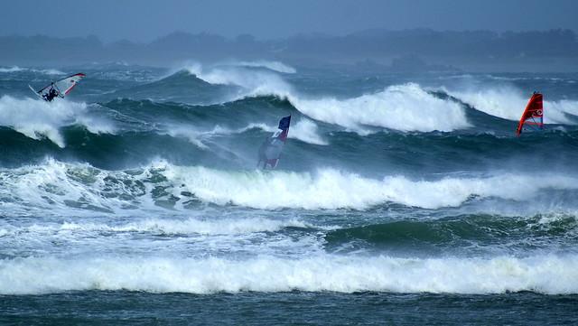 Wind surf Lampaul Ploudalmezeau