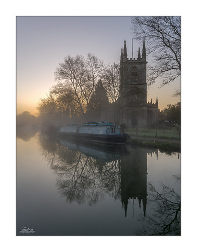 uk greatbritain travel trees england mist reflection building tree travelling church water grass fog architecture sunrise canon print landscape photography dawn countryside boat canal photo spring europe frost photographer image unitedkingdom britain religion picture tourist hungerford photograph gb british canon5d christianity berkshire barge narrowboat waterway canalboat hedges britishcountryside wideanglelens landscapephotography canalbarge westberkshire avonandkennetcanal jaketurner canon5dmarkiii jrturnerphotography canon1635mmf4lis parishchurchsaintlawrence