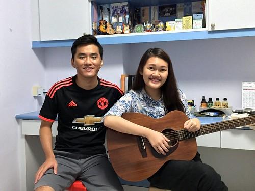 Guitar lessons Singapore Wan Fang