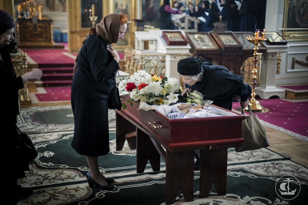 28 марта 2016, Отпевание старейшей сотрудницы библиотеки Аксеновой А.В. / 28 March 2016, The funeral of the oldest employee of the library