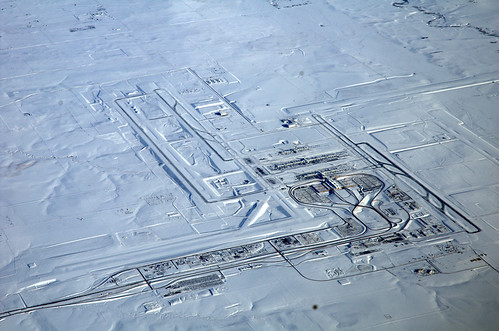 Denver Airport Under Snow | by ashleyniblock