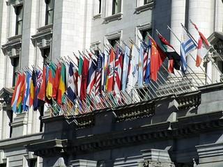 Flags @ San Francisco, California