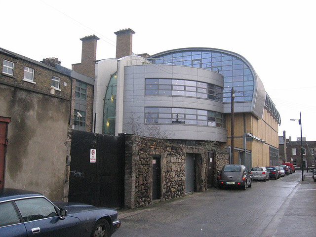 Dublin City Library and Archive - rear entrance