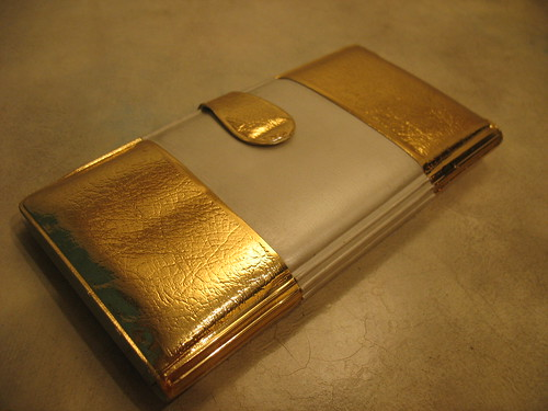 Gold & Cream Wallet | by HousingWorksPhotos