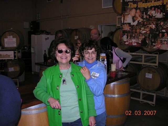 Wine tour 2007 definitely good