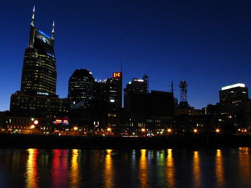 Nashville skyline at dusk | by SeeMidTN.com (aka Brent)