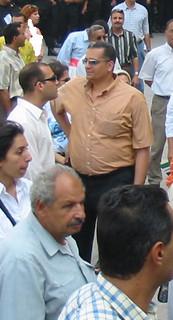 State Security Officers Sherif el-Qamati and Waleed el-Dessouki