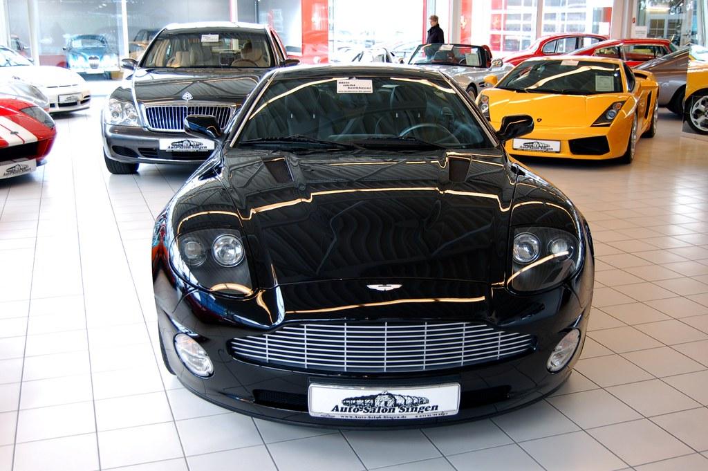 Aston Martin Vanquish Front Aston Martin Vanquish At Auto Flickr
