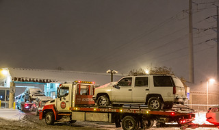 Snow Emergency Tow Trucks at the Minneapolis City Impound Lot | by Tony Webster