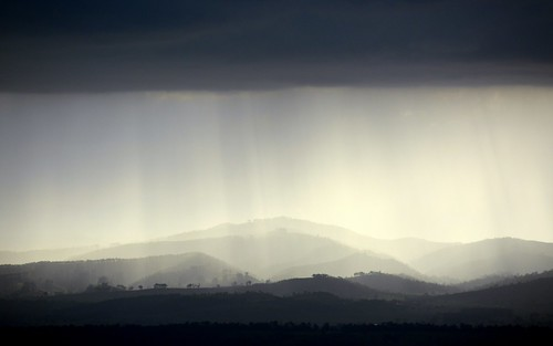 light shadow storm landscape silhouettes australia hills queensland stormlight beaudesert loganvalley