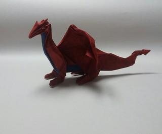 Western dragon | by paper folding artist redpaper