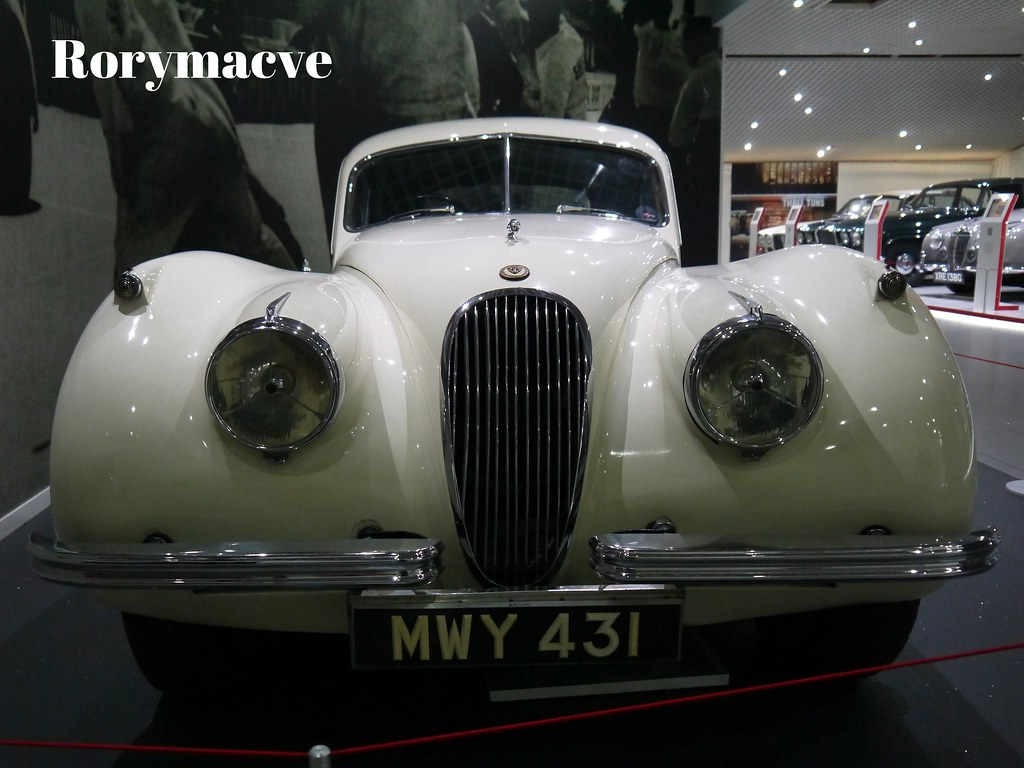 1948 Jaguar XK120   The XK120 was launched in open two ...
