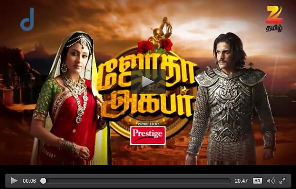 Jodha Akbar 01-03-16 Zee Tamil Tv Serial Online,Jodha Akba